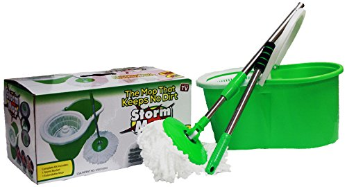 As The Original Spin Mop with No Pedal, Green