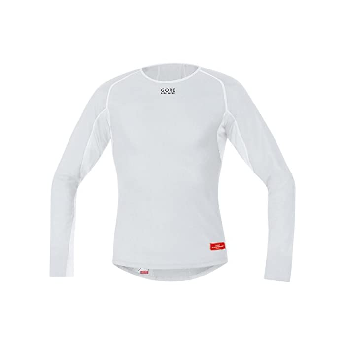 Gore Bike Wear Base Layer Windstopper Termo – Camiseta de Ciclismo para Hombre