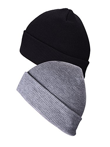 Mudder Unisex Cuffed Beanie Winter