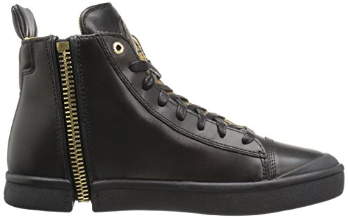 ... DIESEL - Baskets basses - Homme - Sneakers Noires Zippé All Over Zip-around  pour