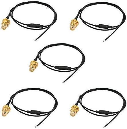 N/A - 5 Cables de Soldadura WiFi, Antena Pigtail, Cable de 50 ...