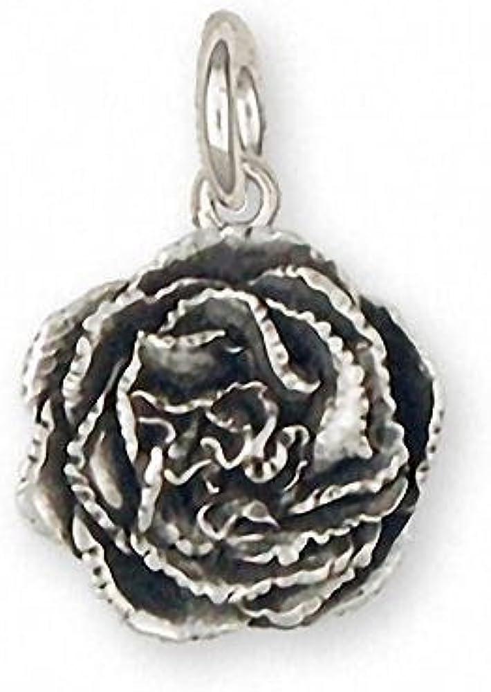 Carnation Bracelet Jewelry Sterling Silver Handmade Flower Bracelet CN2-HB