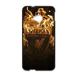 Liverpool Logo HTC One M7 Cell Phone Case Black Y9680801