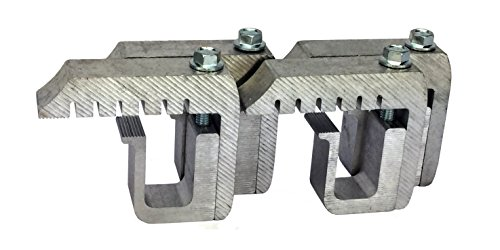 GCI Truck Cap / Camper Shell Clamps for Ford F Series Super Duty - Silver (set of 4) (Camper Shell Dodge)