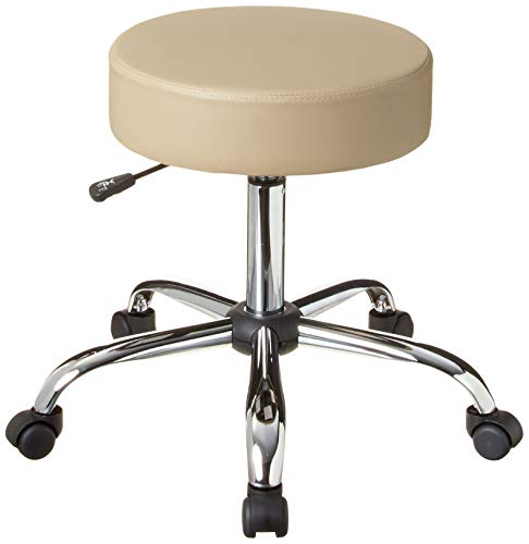 Boss Office Products Be Well Medical Spa Stool in Beige