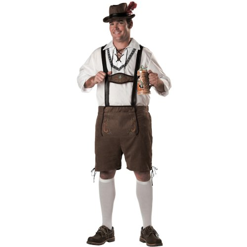 [Oktoberfest Guy Costume - XX-Large - Chest Size 50-52] (Fun Couple Costume Ideas)