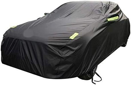 ビュイックアンコール車のカバーオックスフォード布日焼け防止レインカーカバーとの互換性 (Color : Black, Size : Single layer)