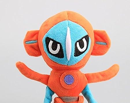 2pcs Pokemon Deoxys Attack /& Speed Forme Plush Doll Stuffed Toys Gift