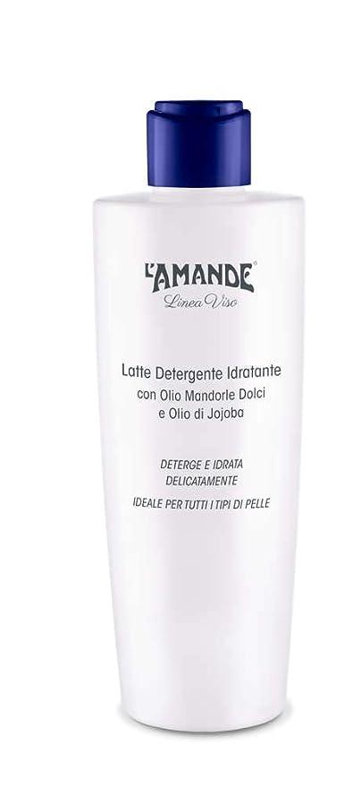 L Amande – Leche Limpiador Facial Hidratante con Aceite de Almendras Dulces y aceite de