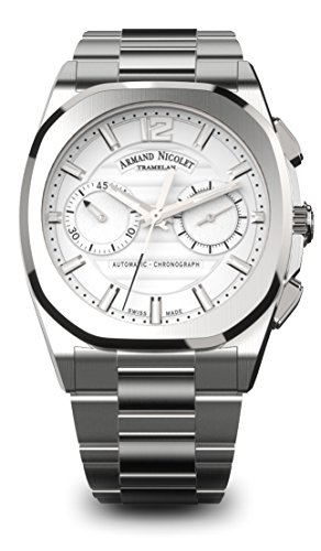 Armand Nicolet Men's J09 Collection A654AAA-AG-MA4650AA