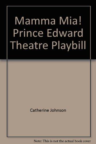 Playbill Theater (Mamma Mia! Prince Edward Theatre Playbill)