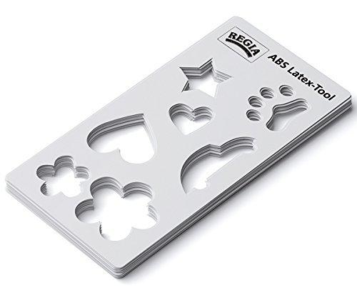Regia ABS Latex-Tools Schablone für Latexfarbe