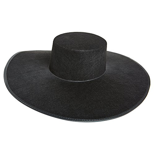 Formation Wide Brim Black Costume -