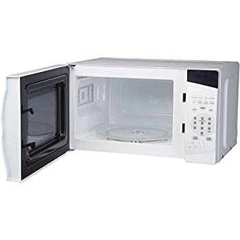 0.7 Cu. Ft. 700w Countertop Microwave Oven In White 1