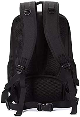 Green Multi-Functional Waterproof 15.6inch Laptop DSLR Camera Bag Video Case Padded Backpack Color : Green, Size : 27x18x4.2cm