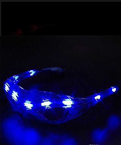 Man Various Costumes Spider (2018 kids Spiderman Led Glass (Blue)