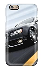 Fashion PC Case For Iphone 6- Audi Car 4 Defender Case Cover(3D PC Soft Case) by icecream design