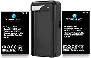 TrendON 3000 mAh Spare Replacement Battery Kit for LG G4