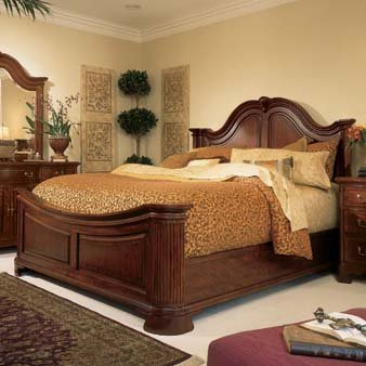 American Drew Cherry Grove Mansion Bed - King