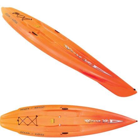 Ocean Kayak Nalu Hybrid Stand-Up-Paddleboard Sit-On-Top Kayak (11-Feet / Sunrise)