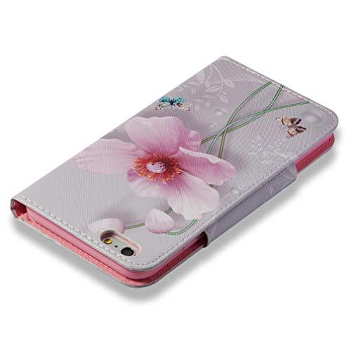 Amazon.com: Firefish iPhone 6/6S Funda, Slim Flip 3D ...