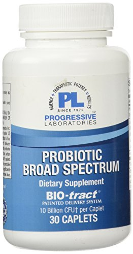 Progressive Labs Probiotic Broad Spectrum Supplement, 30 Count