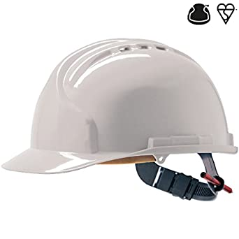 JSP AHN120-000-100 MK7 - Casco de seguridad, color blanco: Amazon.es: Amazon.es