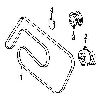 mercedes benz 113 997 00 92 serpentine belt. Black Bedroom Furniture Sets. Home Design Ideas