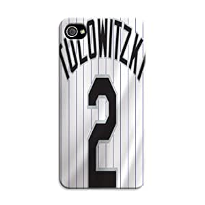 iphone 4 4s Protective Case,Classic style Baseball iphone 4 4s Case/Colorado Rockies Designed iphone 4 4s Hard Case/Mlb Hard Case Cover Skin for iphone 4 4s WANGJING JINDA