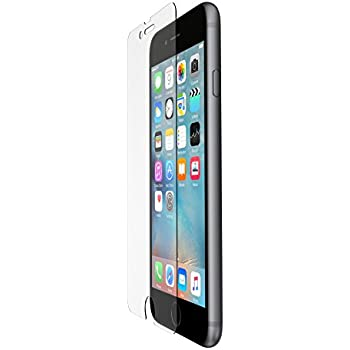 belkin screenforce tempered glass screen protection for iphone 6 6s cell phones. Black Bedroom Furniture Sets. Home Design Ideas