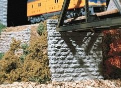 Cut Stone Bridge (Chooch Enterprises HO Scale Single Cut Stone Bridge Abutment)