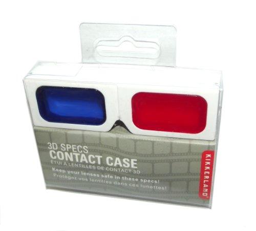 Kikkerland Contactez Lens Case, Specifications 3D
