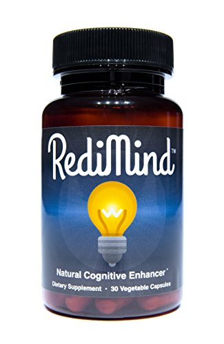 RediMind - Natural Cognitive Enhancement Supplement - Non-GMO, Vegan, Gluten-Free