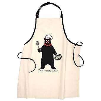 """Hatley """"Bear Naked Chef"""" Apron"""