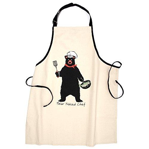 Hatley Bear Naked Chef Apron