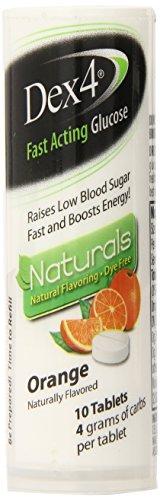 Glucose Tablets Natural Orange Count product image