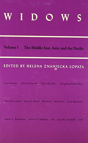 Widows: Vol. I: The Middle East, Asia, and the Pacific