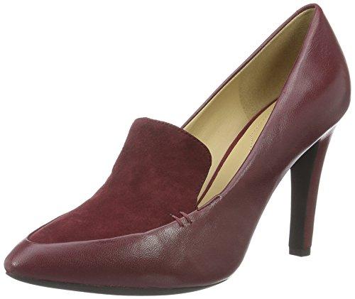 Geox Damen Caroline Pumps Bordeaux 39 EU: : Schuhe
