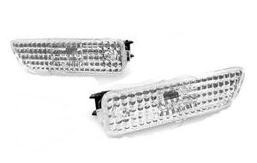 Front Bumper Side Marker Light Clear Lens For VW Golf Jetta MK4 1.8T 2.0 GTI GLI