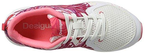 Desigual Shoes_x-Lite 2.0 P, Zapatillas de Running Mujer Blanco (1000 Blanco)