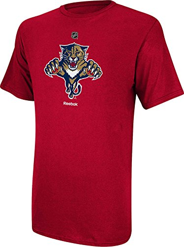 (NHL Florida Panthers Primary Logo T-Shirt, Small,Red)