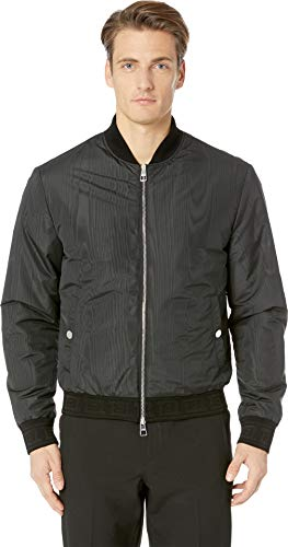 Versace Collection Men's Reversible Bomber Jacket Black for sale  Delivered anywhere in USA