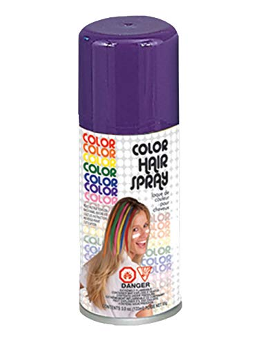 Temporary Hairspray Hair Spray Dye Purple Color Can Makeup Halloween -