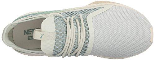 Puma Men's Tsugi Netfit Sneaker, Grey Blue Flower-aquifer-whisper White