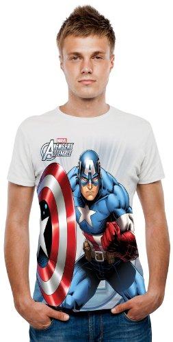 Windy Man Halloween Costume (Marvel Captain America Digital TShirt)