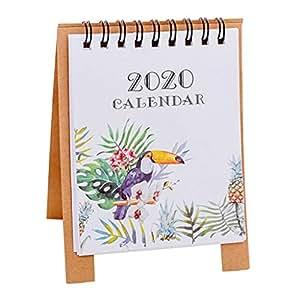 Amazon.com: Elevin 2020 - Calendario de mesa con diseño de ...