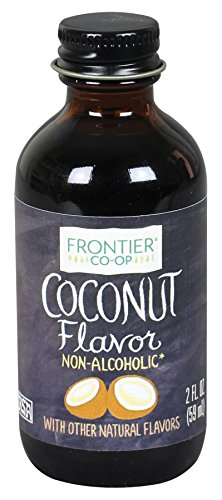 Frontier Co-op Coconut Flavor, Non-Alcoholic, 2 ounce bottle