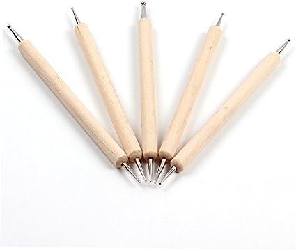 Hrhyme 5 piezas 2 way quebranto pluma con cuerpo de el ajuste de ...