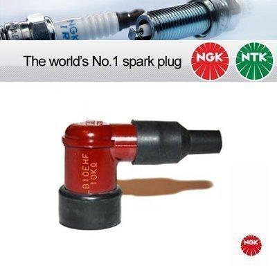 NGK - Tapón para bujía LB10EHF de color rojo, para cable HT de 5 mm.: Amazon.es: Coche y moto