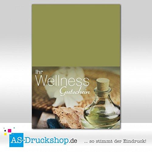 Gutschein Wellness - - - Fläschchen   100 Stück   DIN A6 B079Q41GC1   Verschiedene Stile und Stile  c5d916